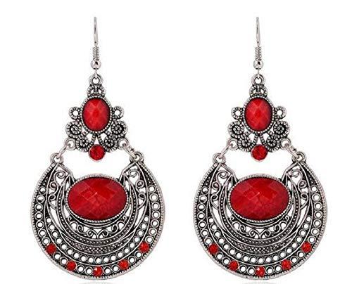 (ASKANA Women Fashion Gypsy Tribal Ethnic Bohemian Style Earrings )
