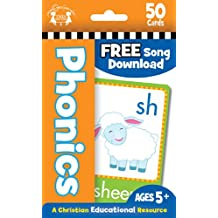 Phonics Christian 50-Count Flash Cards (I'm Learning the Bible Flash Cards)