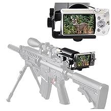 Gosky Scope Cam Adapter - Scope Camera Mount for Rifle Scope Gun Scope Airgun Scope - for Compact Camera Casio Sony Canon Nikon Fujifilm Leica -Record Hunt in The Camera (Scope Camera Adapter)