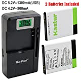 Kastar Galaxy S2 Battery (2-Pack) and intelligent