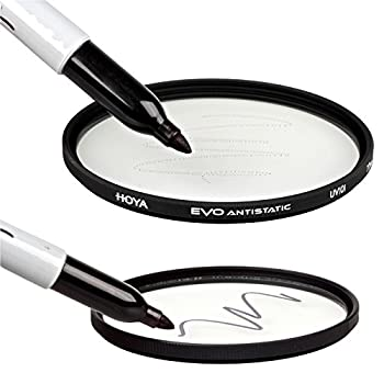 Hoya Evo Antistatic Uv Filter - 72mm - Duststainwater Repellent, Low-profile Filter Frame 3