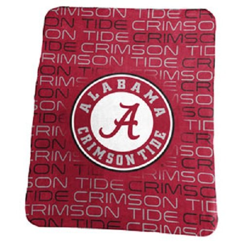 University of Alabama Crimson Tide Fleece Throw Blanket (University Fleece)
