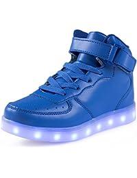 Kids LED Light Up Shoes children High Tops Winter...