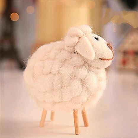 Juguete de la muñeca de las ovejas, decoración de la Navidad ...