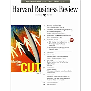 Harvard Business Review, May 2007 Periodical