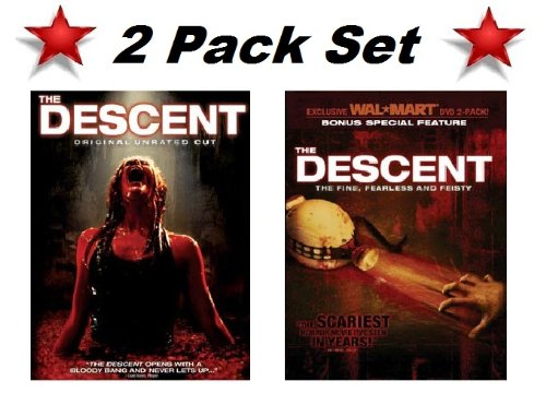 2 Pack Special! The Descent (Widescreen Original Unrated Cut) and The Descent The Fine, Fearless and Feisty Bonus Special Feature -