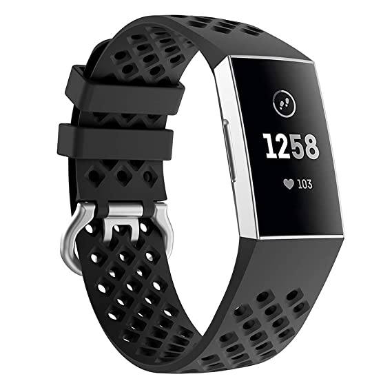 Amazon com: Compatible Fitbit Charge 3 Charge 3 Special Edition