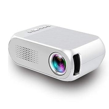 YRYH Proyector de Video LED Pantalla portátil de 80 Pulgadas ...
