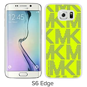 Hot Sale M-ichael K-ors Samsung Galaxy S6 Edge Case ,Popular And Unique 10 White Phone Case For Samsung Galaxy S6 Edge Screen Case Fashion Custom Designed