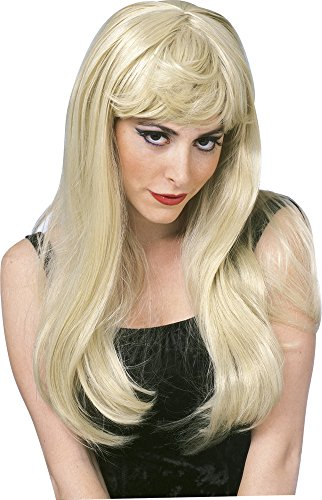 [Rubie's Costume Glamour Wig, Blonde, One Size] (Barbie Wig)