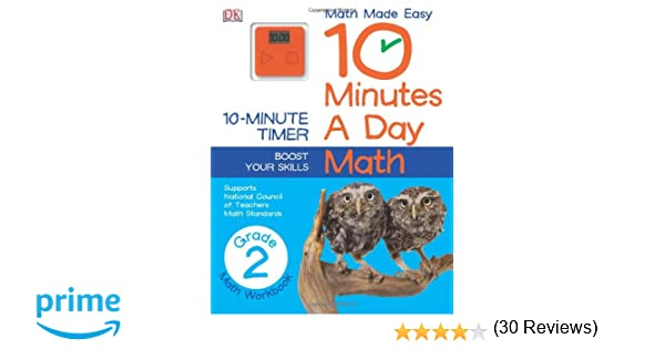 Time Worksheets 2nd grade telling time worksheets : 10 Minutes a Day: Math, Second Grade: DK Publishing: 9781465402318 ...
