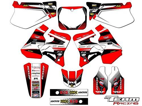 Team Racing Graphics kit for 1995-1997 Honda CR 125R, ANALOG