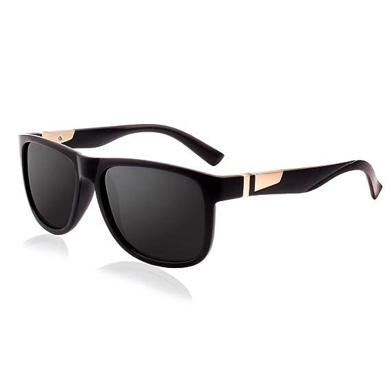 GQUEEN Gafas de Sol Polarizadas Unisex – Gafas para Hombre y Mujer Retro UV400 MNF4