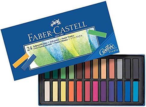 Faber-Castell Creative Studio - Caja de lápices pastel 24 unidades ...