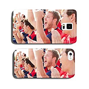 Spectators In Team Colors Watching Sports Event cell phone cover case iPhone6 Plus