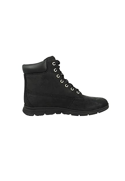 zapatos negros TIMBERLAND A18WI botas negras mujer de mediana cordones 40 XEw7r