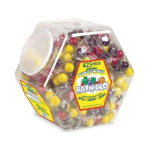Rain Blo Assorted Bubble Gumball, 6.43 Pound -- 4 per case.