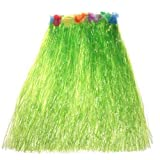 Hawaiian Grass Skirts 80CM Double Layer Adult Costume