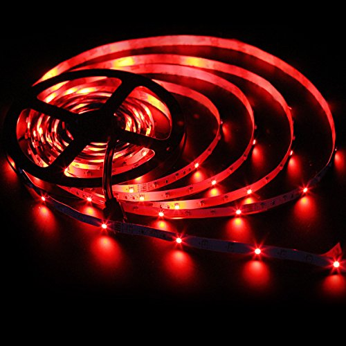 SUPERNIGHT 5M/16.4 Ft SMD 3528 RGB 300 LED Color Changing Kit with Flexible Strip Light+44 Key IR Remote Control+ Power Supply by SUPERNIGHT (Image #7)