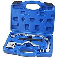 Hengda® 7-teilig Steuerkette Wechsel Werkzeug Set Nockenwellen Opel Astra J Corsa D Motor-Einstellwerkzeug