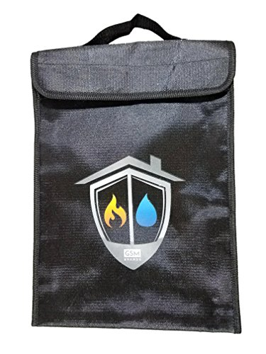 Fireproof Bag - Fire and Water Resistant Safe Pouch for Money and Document Safekeeping (15