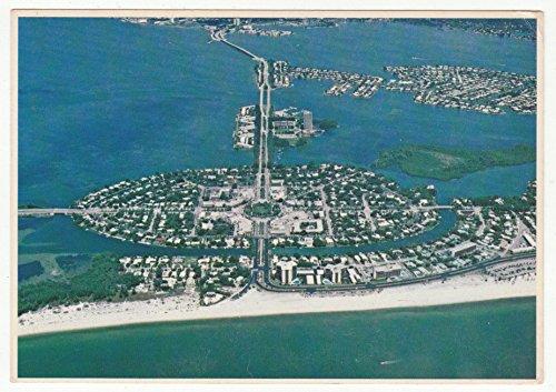 St. Armands Key, Florida Vintage Original Postcard #0401 - June 3, - St Armands Stores