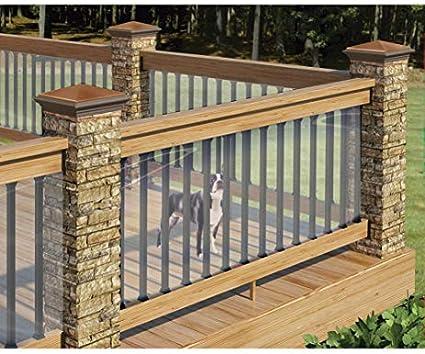 Amazon Com Bw Brands Clear Deck Shield 15 Feet Long Garden Outdoor