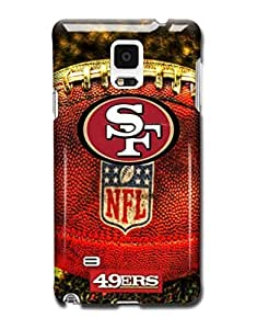Tomhousomick Custom Design The NFL Team San Francisco 49ers Case Cover for Samsung Galaxy Note 4