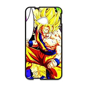Dragon ball strong boy Cell Phone Case for HTC One M7 by lolosakes