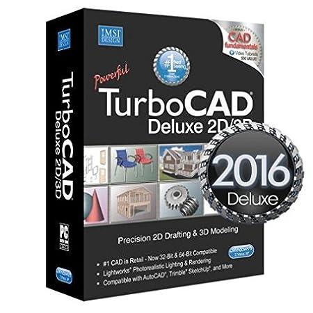 IMSI Design TurboCAD Deluxe V2016