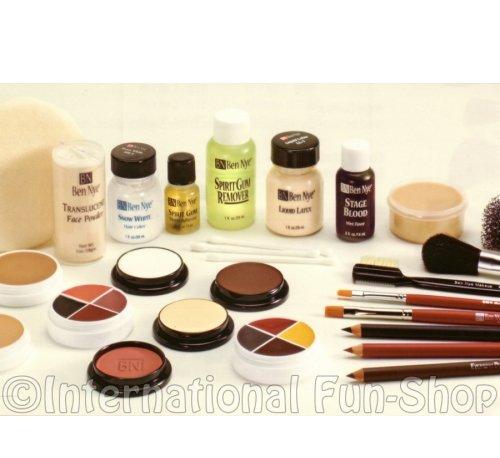 Fair Creme Foundation - Ben Nye Theatrical Creme Makeup Kits - Brown:Medium