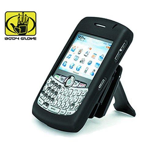 Soft Skin Fits RIM/Blackberry 8300 8310 8320 8330 Curve Body Glove with Removable Belt (Blackberry Curve Body Glove)