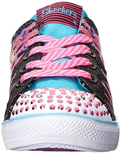 Skechers Chit ChatDizzy Dayz Mädchen Sneakers Schwarz (Bkmt)