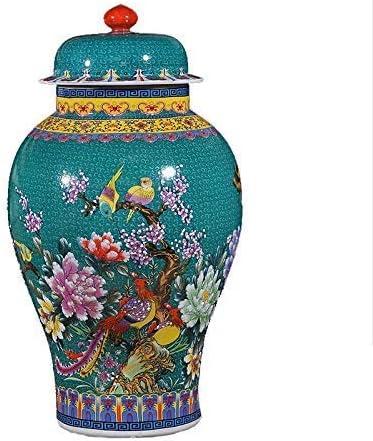 Large Decorative Porcelain Vase Ginger Jar