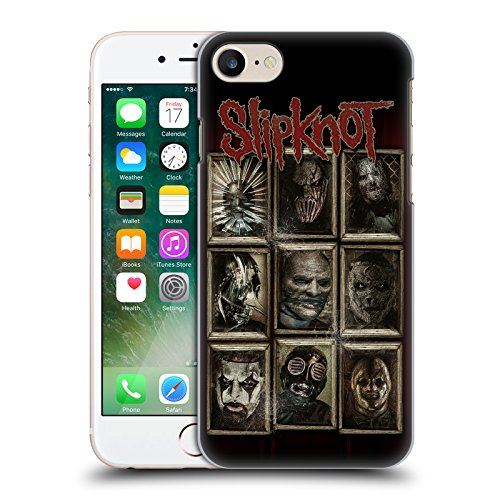 Official Slipknot Masks Key Art Hard Back Case for Apple iPhone 7 (Slipknot Official Masks)