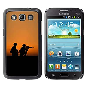 "For Samsung Galaxy Win I8550 , S-type Soldaty oruzhie armiya"" - Arte & diseño plástico duro Fundas Cover Cubre Hard Case Cover"