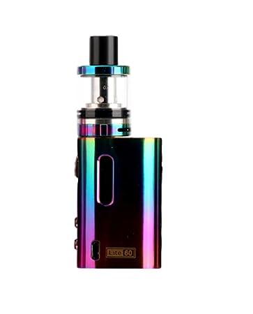 SHINE® Cigarrillo electrónico Lite 60 TC E-Cig 60w Mod. 1600mAh Vaporizador Tanque USB Batería VAPE Pen KIT E-Shisha Cachimba con control de temperatura ...