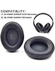 Defean Ear Pads V700 Earpad Potein Leather and Memory Foam for JBL v700nxt (Everest Elite 700) Headphone (JBL v700nxt, Black)