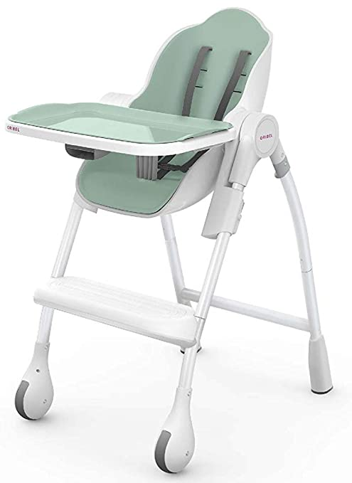 Amazon.com : Oribel Cocoon 3-Stage Easy Clean High Chair (Pistachio) : Baby