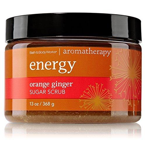 (Bath & Body Works Aromatherapy Energy Orange Ginger Sugar Scrub 13 fl)