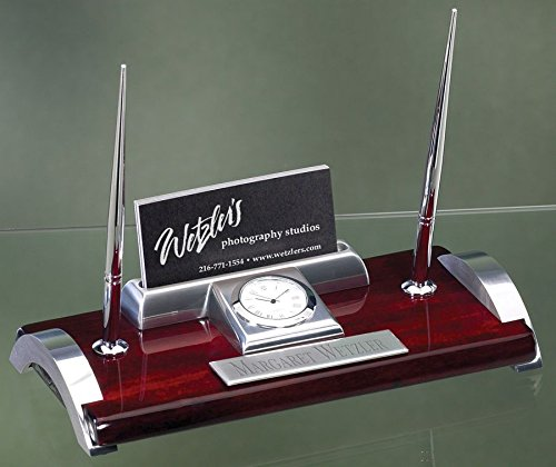 Gifts Business Card Holders Pen - Desk Pen Set with Free Engraving
