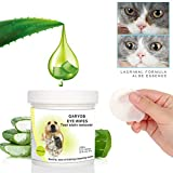 Best Eye Stain Remover For Dogs - GARYOB Eye Tear Stain Remover Wipes for Cats Review
