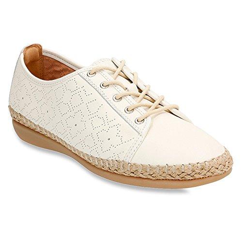 Cuir Sneaker Reeney 9 m De Clarks Rita Blanc B Cassé De pUpBqT4