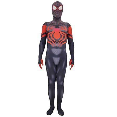 nihiug Disfraz de Halloween Traje de Spiderman Cos Traje ...