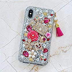 Genuine Crystals Protective iPhone 6/6s Case Cover