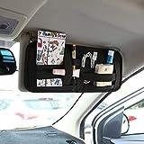 صندوق مناديل للسيارة متعدد الاستخدامات من نوع قرص مدمج مدمج مدمج لتصفيف السيارات والملحقات الداخلية للسيارة 002383