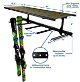 StoreYourBoard Ski Wall Rack and Storage