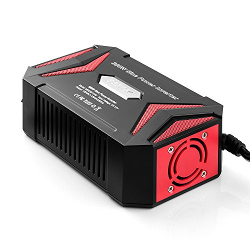 BESTEK Pure Sine Wave 300W Power Inverter DC 12V to AC 110V with 4.2A Dual Smart USB Ports Car Adapter by BESTEK (Image #5)