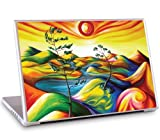 GelaSkins Protective Skin for 17-Inch PC and Mac Laptops - Summer Oasis