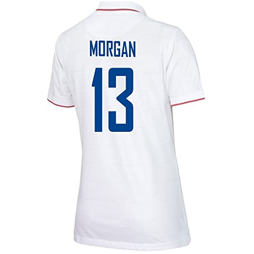 44e3f46ee3a Amazon.com: MORGAN #13 USA Home Soccer Jersey Women's 2014/2015: Books